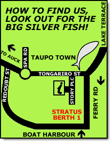 Fish Taupo Map