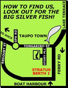Fish Taupo Map